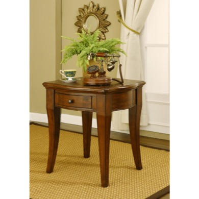 Wilkinson Furniture Farmleigh End Table With Drawer in Birch