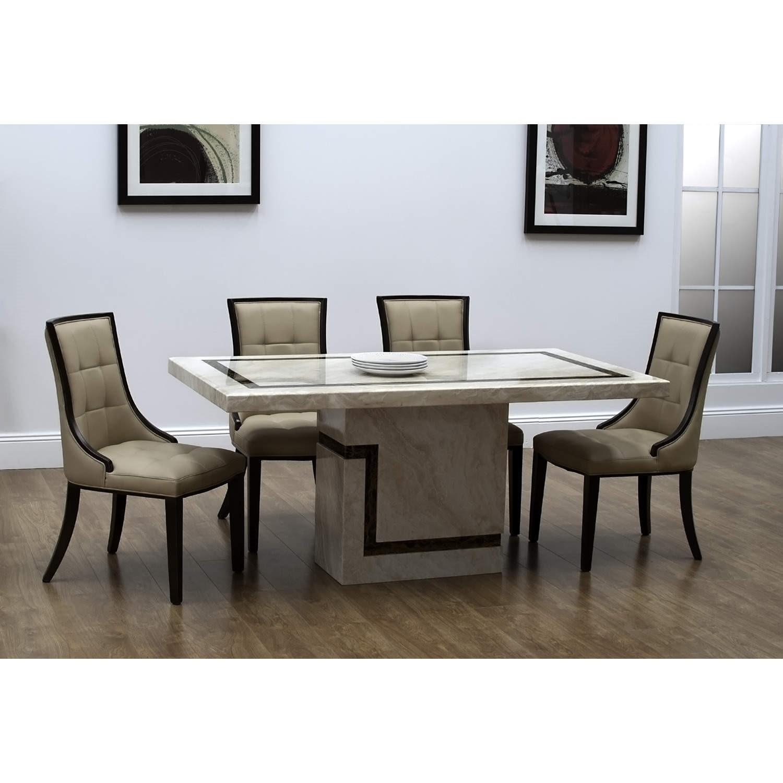 Wilkinson Furniture Filippo Rectangular Dining Table In Marble Furniture123
