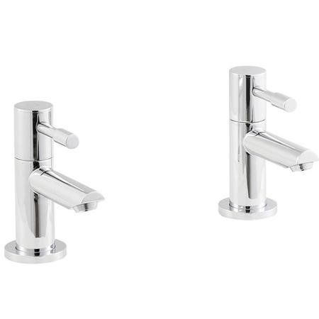 Deck Mounted Lever Basin Taps