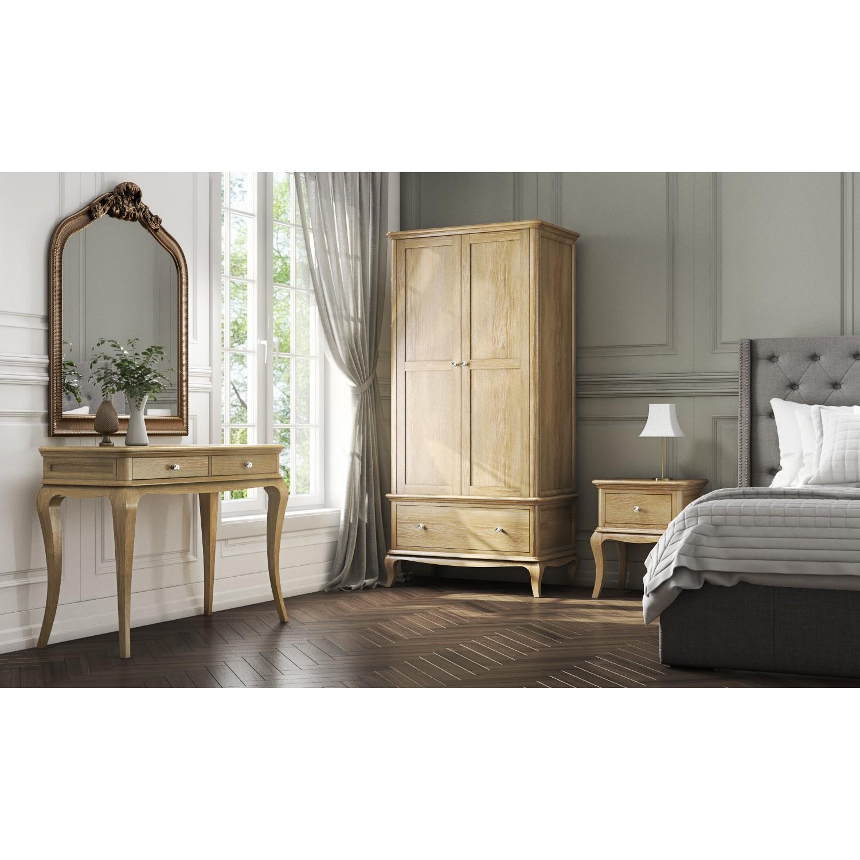 Fonteyn Solid Oak Dressing Table French Style Furniture123