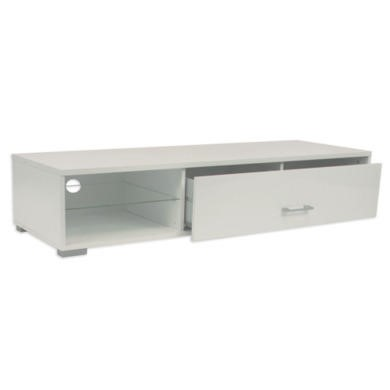 Billi Element White TV Cabinet