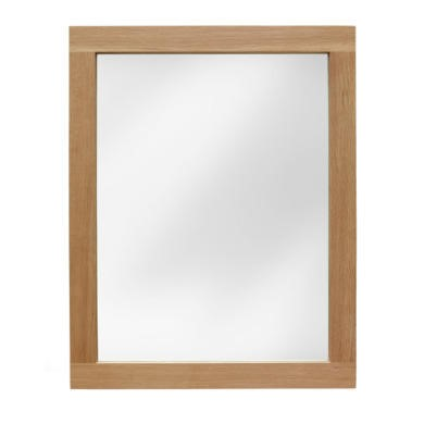 FOL000052 Robin Solid Oak Wall Mirror