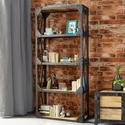FOL00414 Ascot Large Reclaimed Bookcase