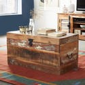 FOL00428 Coastal Reclaimed Wood Trunk Box