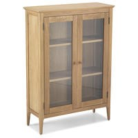 Heritage Furniture Skien Solid Oak Glazed Cabinet