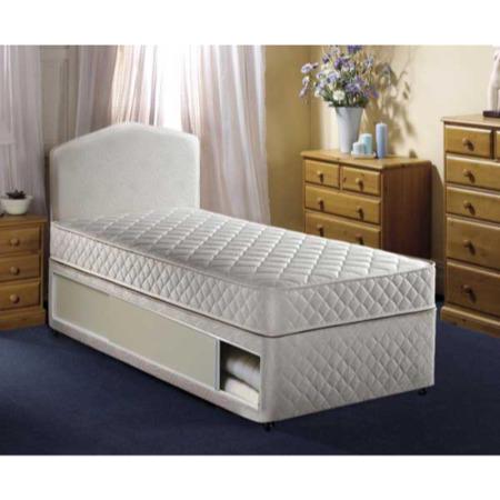Airsprung quattro single divan and mattress standard for Single divan base and mattress