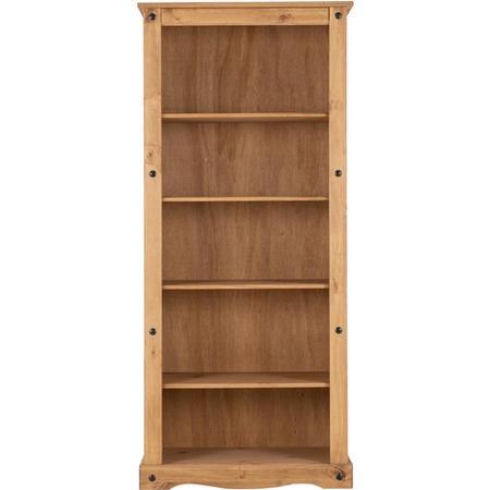 seconique original corona pine tall bookcase