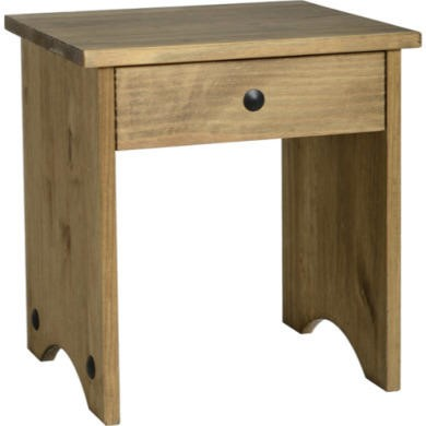 FOL011215 Seconique Original Corona Pine Dressing Table Stool