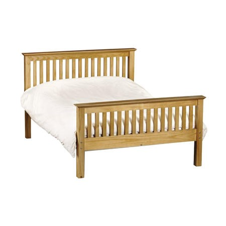 Julian Bowen Barcelona Pine High End Bed - double