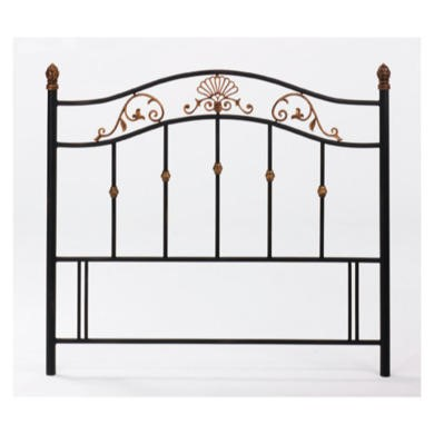 Bentley Designs Angelica Headboard - kingsize in black