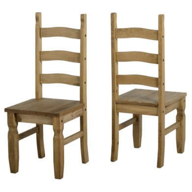 Seconique Pair of Original Corona Dining Chairs
