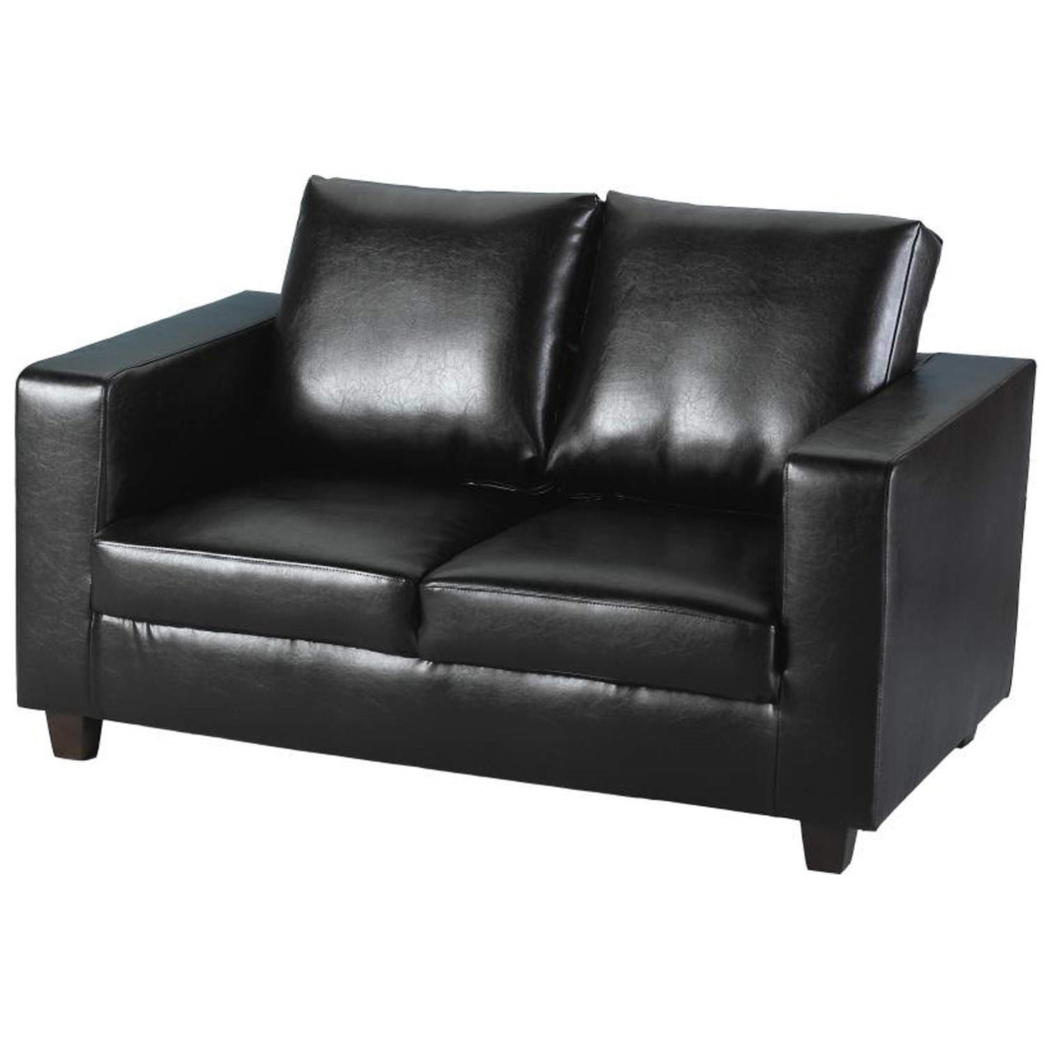 Seconique Tempo 2 Seater Sofa in Black
