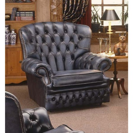 Forest Sofa Monks Leather Chesterfield Armchair Antique