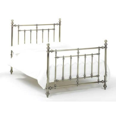 Bentley Designs Imperial Bed in Brass - double with mesh base