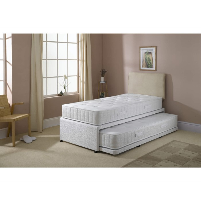 Dreamworks beds paris guest bed small single zipping for Small single bed