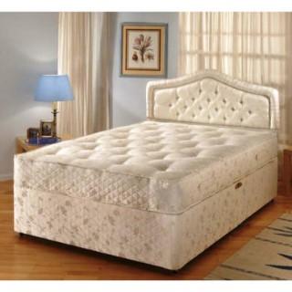 Kozee sleep pocketmaster 1100 divan set small single for Sprung base divan bed with storage