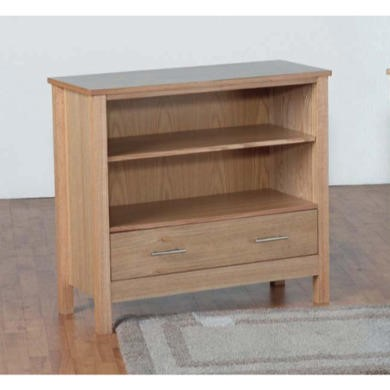 Seconique Oakleigh Low Bookcase