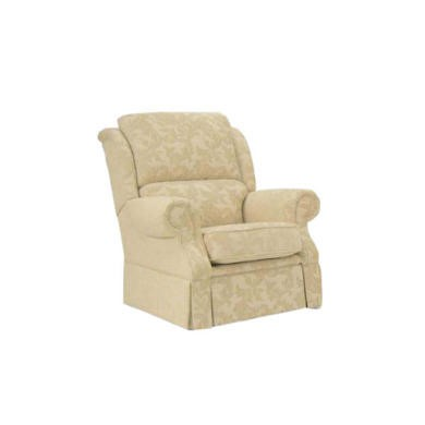 Buoyant Upholstery Park Lane Armchair - acanthus cream