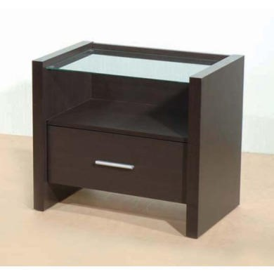 Seconique Denver 1 Drawer Bedside Chest