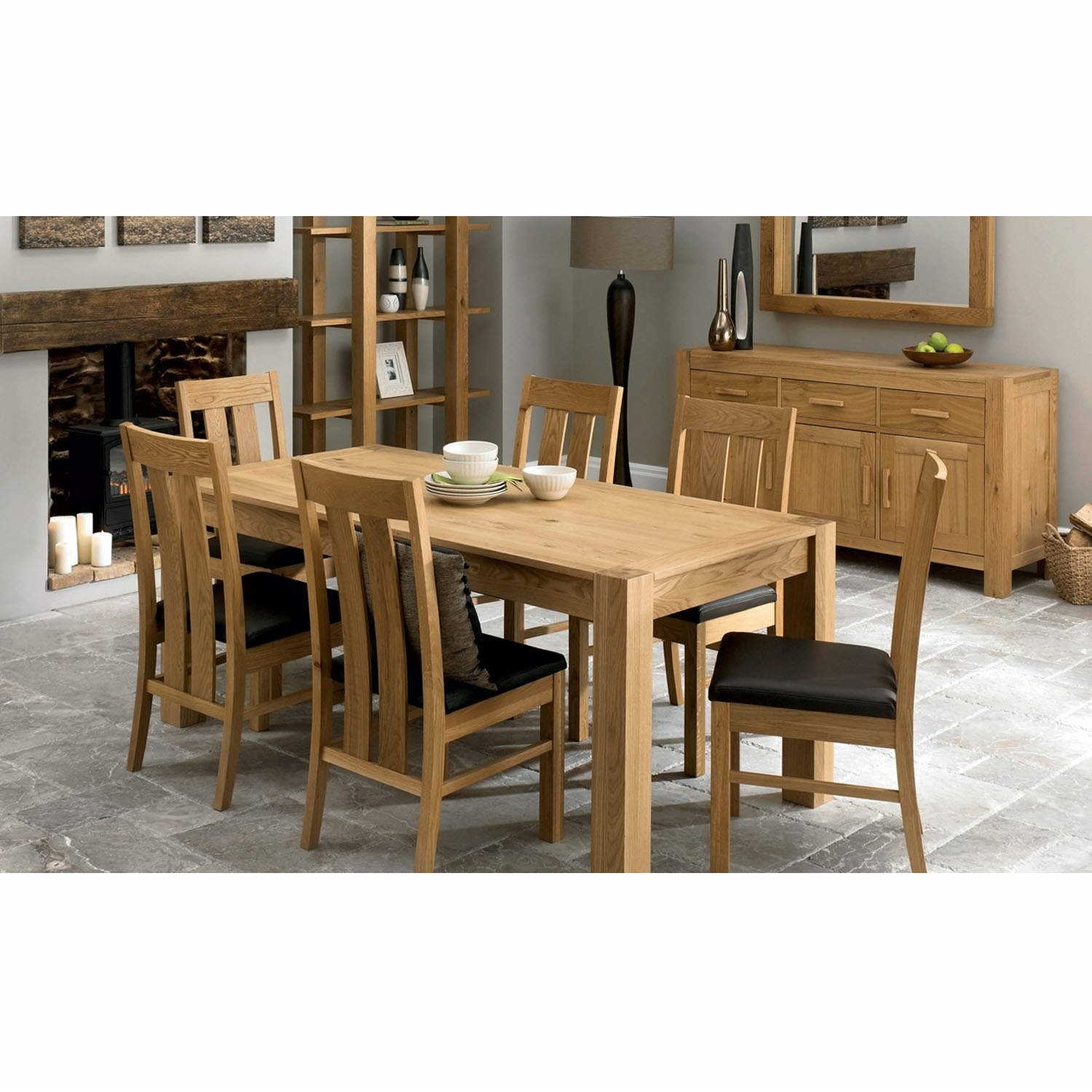 Bentley Designs Lyon Oak 6 Seater Dining Table Furniture123 : FOL0466112supersize from furniture123.co.uk size 700 x 700 jpeg 82kB