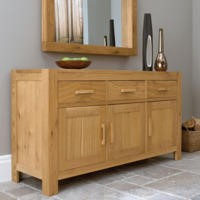 Bentley Designs Lyon Oak Large Sideboard
