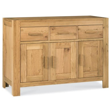 Bentley Designs Lyon Oak Small Sideboard