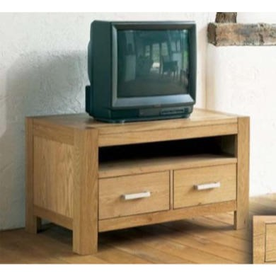 Bentley Designs Lyon Oak TV Cabinet