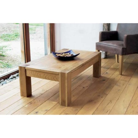 Bentley Designs Lyon Oak Coffee Table Furniture123