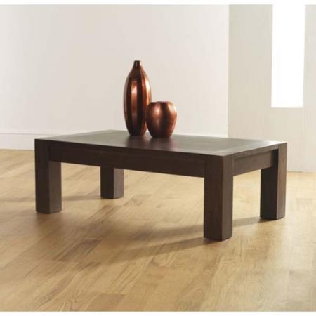 Bentley Designs Lyon Walnut Rectangular Coffee Table
