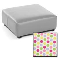 Just4Kidz Childrens Footstool - Candy Print
