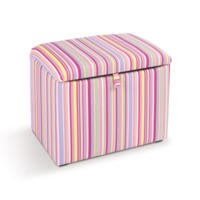 Just4Kidz Toy Box in Candy Stripe