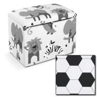 Just4Kidz Toy Box in Football
