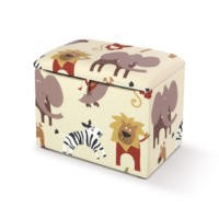 Just4Kidz Toy Box in Roar Natural