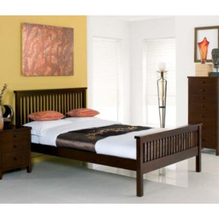 bentley designs atlantis deep oak kingsize bed furniture123. Black Bedroom Furniture Sets. Home Design Ideas