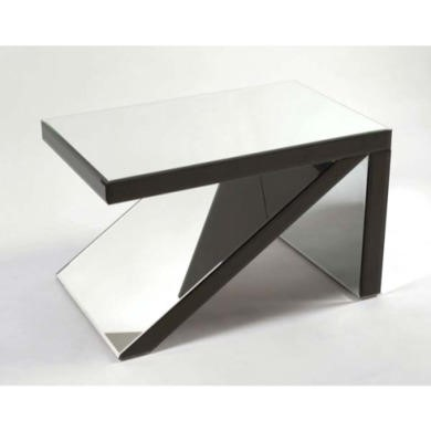 Morris Mirrors Sidi Arrowhead Glass Coffee Table