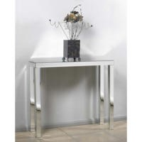 Morris Mirrors Art Mirrored Console Table