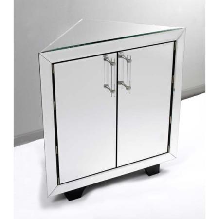 Morris Mirrors Art Mirrored Corner Sideboard Furniture123
