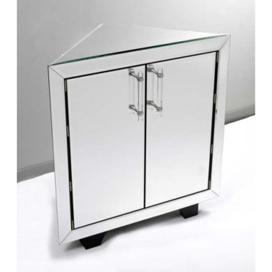 Morris Mirrors Art Mirrored Corner Sideboard