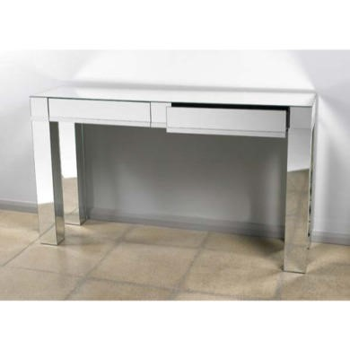 Morris Mirrors Art Mirrored 2 Drawer Console Table
