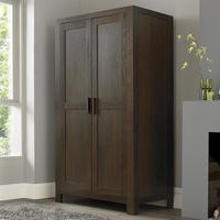Bentley Designs Lyon Walnut Double Wardrobe