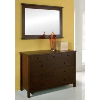 bentley designs atlantis deep oak 6 3 drawer chest furniture123. Black Bedroom Furniture Sets. Home Design Ideas