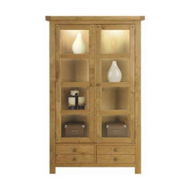 Morris Furniture Grange 2 Door Display Cabinet
