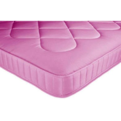 Joseph Kiddies Quilted Mattress in Pink - small single