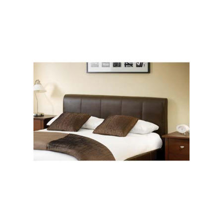 Julian Bowen Vienna Upholstered Double Ottoman Storage Bed