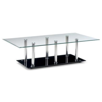 Julian Bowen Alpha Glass Coffee Table