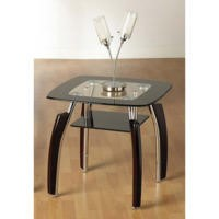 Seconique Elena Lamp Table in Black