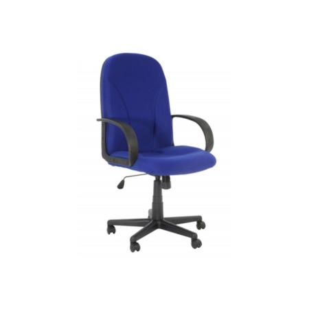 Alphason Designs Boston Fabric High Back Executive Chair - blue