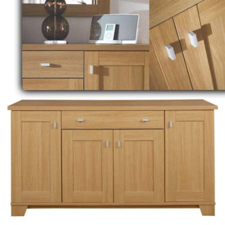 Caxton Furniture Sherwood 4 Door Sideboard