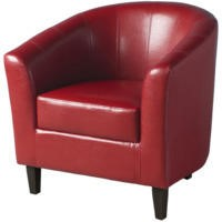 Seconique Tempo Tub Chair in Rustic Red