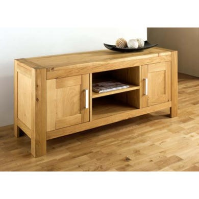 Bentley Designs Lyon Oak Large TV Cabinet